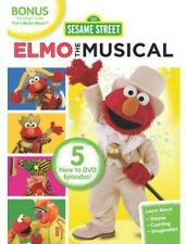 Sesame Street: Elmo the Musical (2013, REGION 1 DVD New)