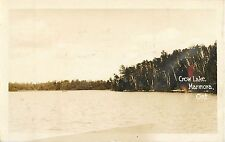 c1920s Crow Lake, Marmora, Ontario, Canada Real Photo Postcard/RPPC