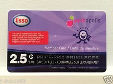 ESSO Price Privileges Fuel Savings Card - Save 2.5 Cents/Litre on 2000L ($50.00)