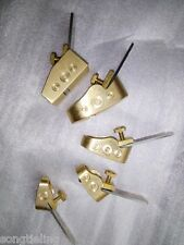 5 PCs Quality Brass Mini Plane Luthier tools for Violin Viola Cello