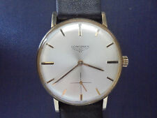 Longines 18K Solid Gold - Vintage Swiss - 35mm Without Crown