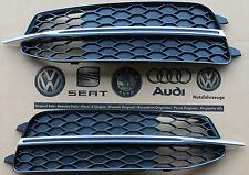 Audi A6 4G original Gitter Stoßstange S-Line Alu Select Grill Kühlergrill S6 C7