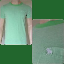 NWT Abercrombie & Fitch Jackrabbit Trail Tee Shirt Green Large by Hollister
