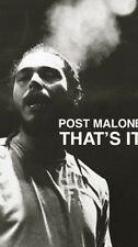 Post Malone White Iverson That's It Poster