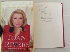 Joan Rivers SIGNED Book Relationships Surgery Sex 1st ED  HC/DJ  Very Funny!