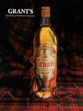 Publicité Advertising 1992  WHISKY  WILLIAM GRANT'S