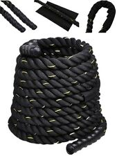 "2"" 30FT Poly Dacron Battle Rope Exercise Workout Strength Training Undulation"