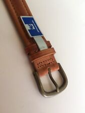 19MM - Western Leather Waterproof Watch Band - Made In Canada - PRICE REDUCTION