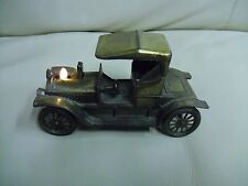 Vintage 1909 Model Opel Metal Car Vintage Table Lighter Made in Japan working