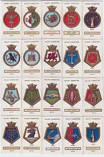 Complete Set of 50 British Naval Ships Cards from 1925 BATTLESHIPS CRUISERS ++++