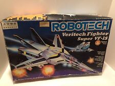 ROBOTECH VERITECH FIGHTER SUPER VF-1S Vintage  Harmony Gold Rare With Box