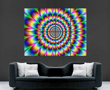 TRIPPY PSYCHEDELIC  HUGE IMAGE  GIANT PRINT POSTER