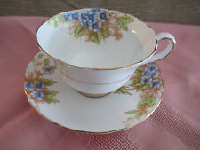 ROSINA TEA CUP and SAUCER Vintage Floral Bone China England