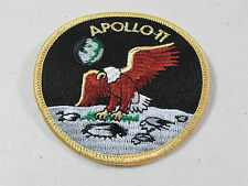 """NASA Apollo 11 Collins Armstrong Aldrin 3"""" Embroidered Emblem Patch Moon Landing"""