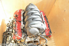 Maserati 06 quattroporte engine for parts spares or rebuild damaged faulty read