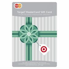 TARGET Pre-Loaded MasterCard $300 NOT RE-LOADABLE ~~Same Day Shipping~~