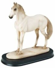 4.5 Inch White Horse Animal Figurine Statue Collectible Mustang Wild LIfe Farm