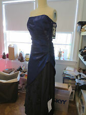 NWT JUMP APPAREL PROM FORMAL GOWN DRESS STRAPLESS BEADED SIZE 5/6
