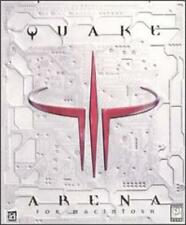 Quake III 3 Arena w/ Manual MAC CD alien world multi-player weapon shooter game!