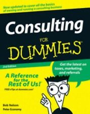 Bob Nelson - Consulting For Dummies 2e (2008) - New - Trade Paper (Paperbac