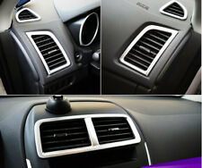 5pcs ABS Chrome Interior Air Vent Cover Trim For Mitsubishi ASX 2013 2014 2015