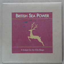 """BRITISH SEA POWER - It ended on an oily Stage ***ltd 7""""-Vinyl***NEW***"""