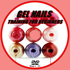 LEARN HOW TO CREATE PERFECT GEL ACRYLIC NAILS EDUCATIONAL TUITION DEMO DVD  NEW