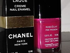 Chanel Vernis ROSE ECLAT / PINK PASSION Polish VINTAGE Limited Ed RARE NIB!!