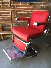 Vintage Takara Belmont Bb225 Classic Barber Chair Antique