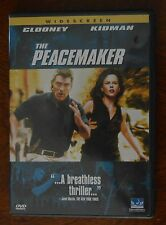 The Peacemaker (DVD, 1998, Anamorphic Widescreen) Clooney Kidman
