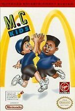 MC KIDS M.C. MCDONALDS ORIGINAL NINTENDO GAME ORIGINAL NES HQ
