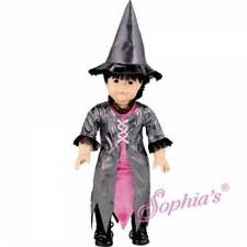 "HALLOWEEN WITCH COSTUME 18"" American Girl Doll BLACK & PINK"