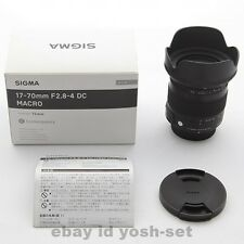 SIGMA standard zoom lens 17-70mm F2.8-4 DC MACRO OS HSM for Nikon Japan Model