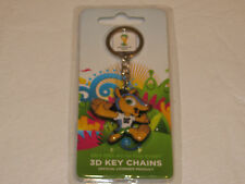 2014 FIFA World Cup Brazil 3D keychain key ring chain collectible emblem mascot