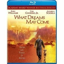 WHAT DREAMS MAY COME - ROBIN WILLIAMS  HI-DEF BLU RAY