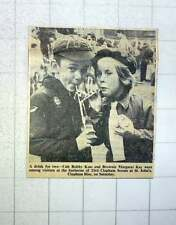 1960 Bobby Kass And Brownie Margaret Kay And Barbecue 23rd Clapham Scouts