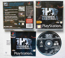 HIDDEN & DANGEROUS sur Sony PLAYSTATION 1 PS1