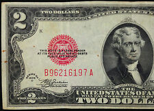 1928-D MULE $2 Two Dollar Bill US Currency, 1928D B-A Series United States Note
