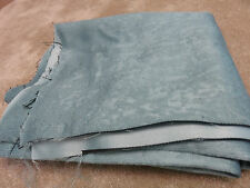 Duck egg blue soft lined thermal blackout remnant crafts fabric piece 150x100cm
