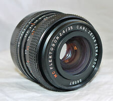 Carl Zeiss Jena DDR Flektogon 35mm f2.4 Wide Angle M42 42mm Screw Lens