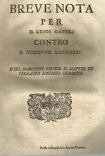SICILIA_PALERMO_GIRGENTI_LUCCHESI_GAZEL_ECONOMIA_GIURIDICA_ANTICA ALLEGAZIONE