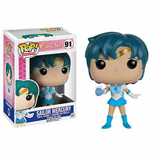Funko Sailor Moon POP Sailor Mercury Vinyl Figure NEW Toys Anime Collectibles