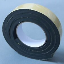 1.5m Black Single Sided Foam Tape 30mm Wide x 10mm Thick Self Adhesive