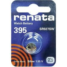 395 (SR927SW) Coin Battery Pack Renata 1.55V / for Watches Car Keys Torches