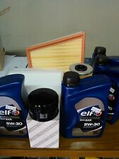 FILTER SET RENAULT SCENIC 1.9 DCI (WITH O WITHOUT FAP)03 06 +5 L OIL ELF 5W-30