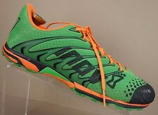 Inov8 F-Lite 195 Green Orange Mesh Athletic Running Sneakers Shoes Mens 12.5