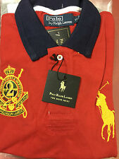 RALPH JOCKEY Polo Tshirt RED SMALL Size