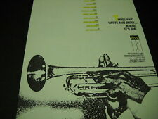 JABBO SMITH Sy Oliver CHARLIE PARKER Rollins COLTRANE Miles 1986 Promo Poster Ad