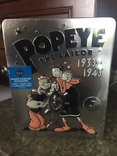 NEW--POPEYE THE SAILOR TIN 8 DVD BOX SET Includes 3 DVD Sets