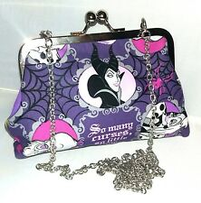 DISNEY VILLAINS EVE HANDBAG maleficent ursula evil queen alternative prom party
